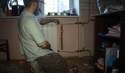 Радиатор полностью подключен