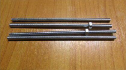 Резка шпильки М4