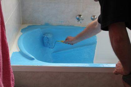 Реставрация - отличный шанс поменять цвет ванны