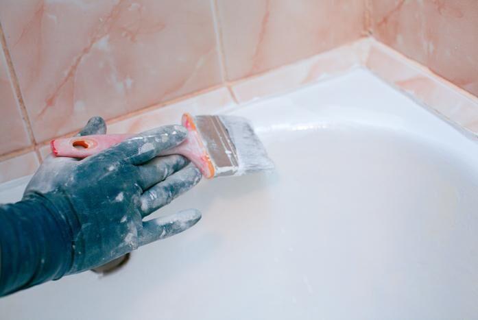 Как отремонтировать ванну чугунную