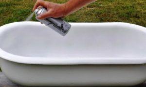 Восстановление эмалевого покрытия ванной своими руками