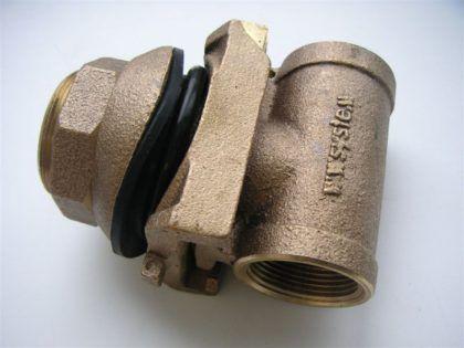 Адаптер для скважины (скважинный адаптер) 1 дюйм, БРОНЗА, С84400