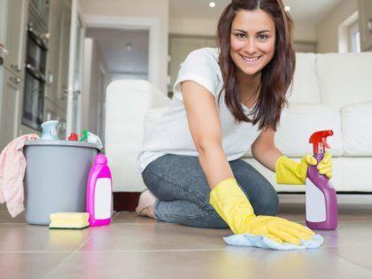 Влажную уборку нужно делать чаще
