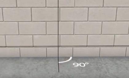 Готовая вертикальная линия