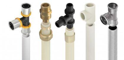 Материал труб имеет большое значение при расчете их нужного диаметра