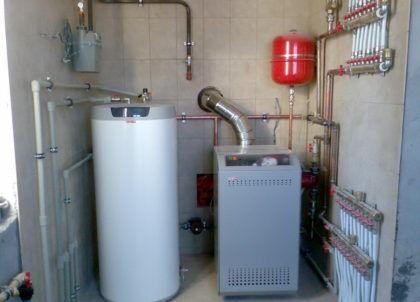 Напольный газовый котел для уюта и тепла