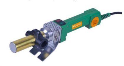 Пальник для полипропиленовых труб с цилиндрическим нагревательным элементом