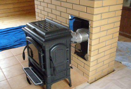 Печное отопление в коттедже