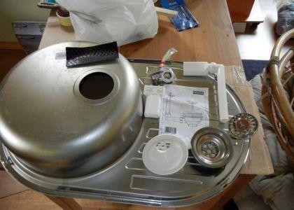 Подготовка к сборке сифона