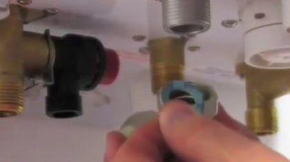 Подключение газовой трубы