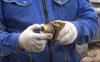 Проверка адаптера для скважины