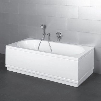 Простейшая прямоугольная ванна из стали