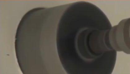 Сверление отверстия под дымоход