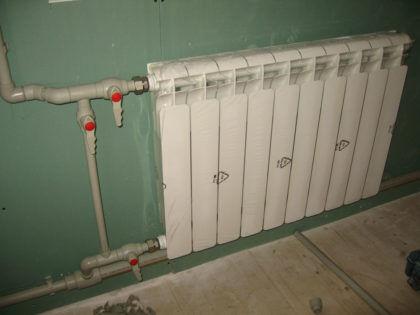 Схема подключения радиаторов отопления в общую отопительную цепь