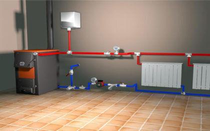 У открытой системы отопления много преимуществ