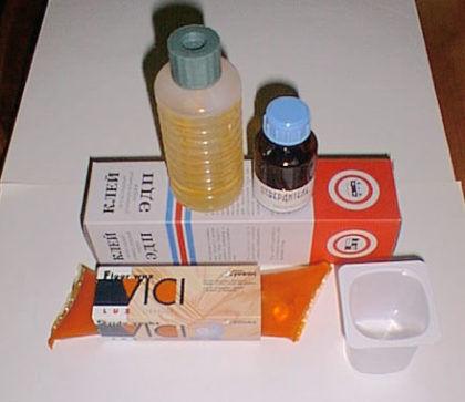 Эпоксидка - лучший клей для унитаза