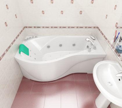 Ванна акриловая «Мишель» 170*96 ТР Triton