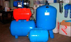 Гидроаккумулятор для систем водоснабжения – функции и принцип действия
