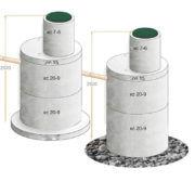 Что такое двухкамерный септик — как сделать из бетонных колец