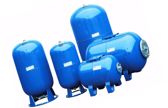 Виды гидробаков для систем водоснабжения