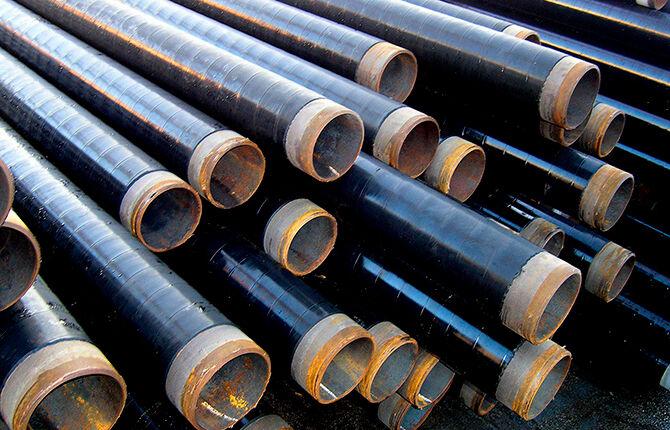 Весьма усиленная изоляция стальных труб
