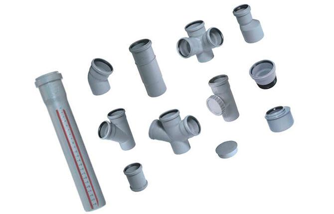 Фитинги «под резиновое кольцо» для наружной канализации